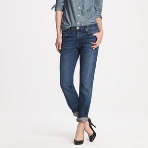 J.Crew vintage straight jeans